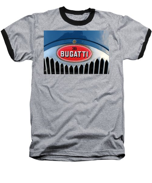 1930's Ettore Bugatti Baseball T-Shirt