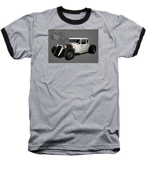 1930 Ford Hot Rod Baseball T-Shirt by Tim McCullough