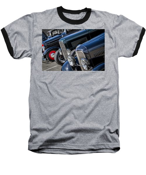 1932 Ford Roadster Coupes With Louvered Hoods Baseball T-Shirt