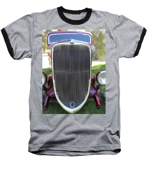 1933 Ford Grille Baseball T-Shirt