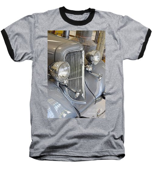 Baseball T-Shirt featuring the photograph 1934 Plymouth Sedan by Paul Mashburn