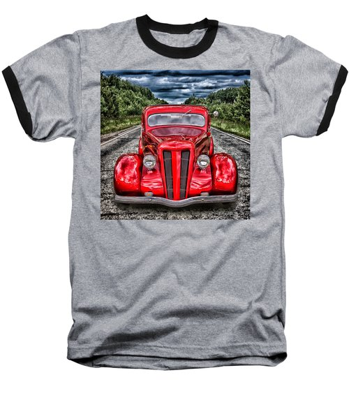 1935 Ford Window Coupe Baseball T-Shirt