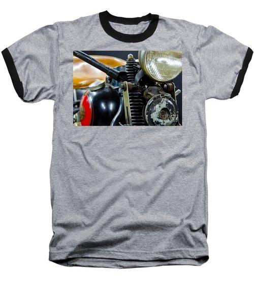 1936 El Knucklehead Harley Davidson Motorcycle Baseball T-Shirt