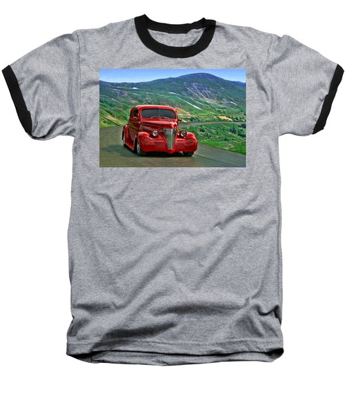 1939 Chevrolet Coupe Baseball T-Shirt by Tim McCullough