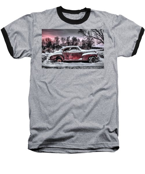 1940 Chevy Baseball T-Shirt