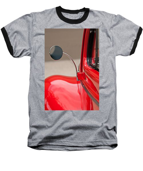 1940 Ford Deluxe Coupe Rear View Mirror Baseball T-Shirt