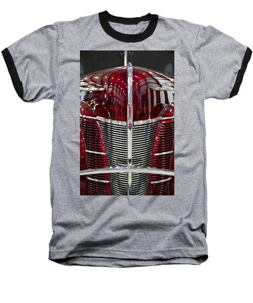 1940 Ford V8 Grill  Baseball T-Shirt