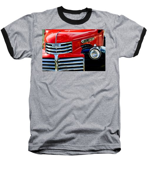 1942 Gmc  Pickup Truck Baseball T-Shirt by Jill Reger