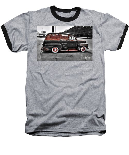 Baseball T-Shirt featuring the photograph 1948 Ford Panel Truck by Paul Mashburn