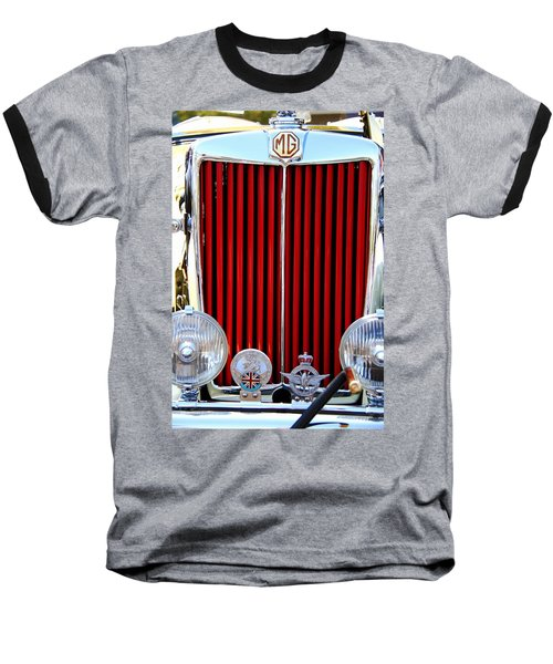 Baseball T-Shirt featuring the photograph 1950 Mg by Aaron Berg