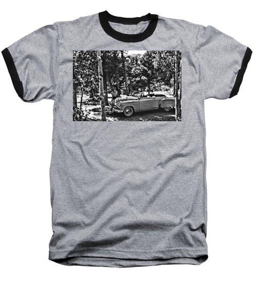 1950's Cadillac Baseball T-Shirt