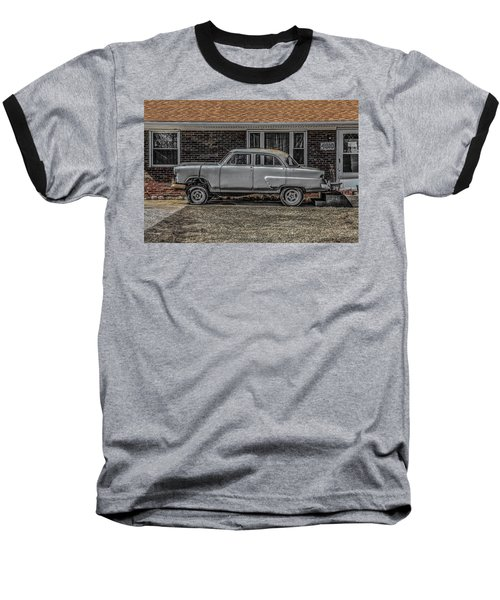 Baseball T-Shirt featuring the photograph 1952 Ford by Ray Congrove