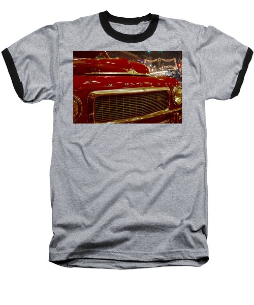 1953 Volvo Pv 444 Baseball T-Shirt by Michael Porchik