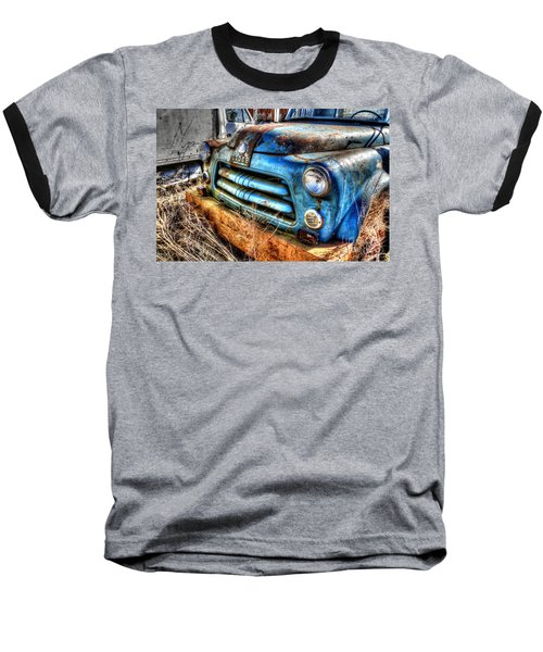 Baseball T-Shirt featuring the photograph 1954 Dodge Pickup by Paul Mashburn