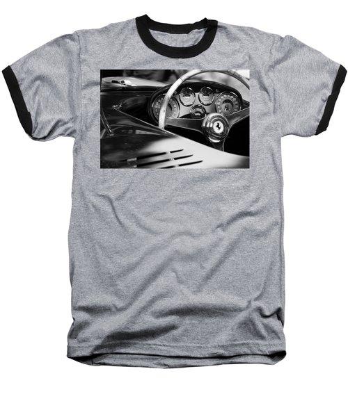1954 Ferrari 500 Mondial Spyder Steering Wheel Emblem Baseball T-Shirt