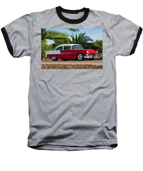 1955 Chevrolet 210 Baseball T-Shirt