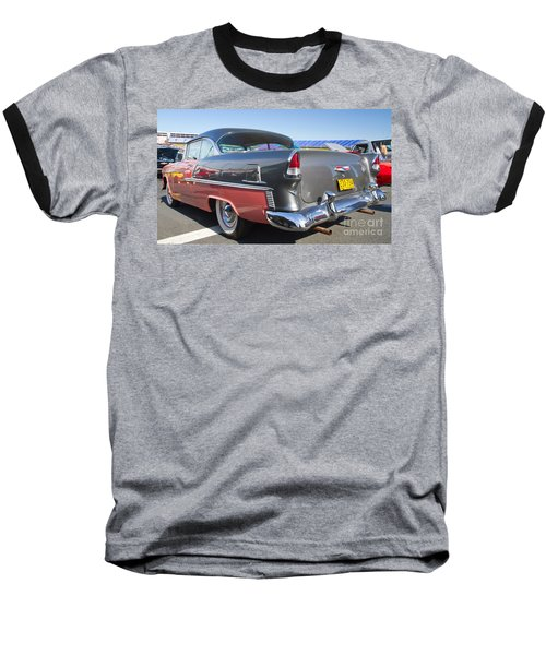 1955 Chevy Bel Air Baseball T-Shirt by Kevin McCarthy