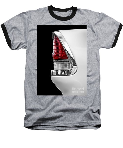 1955 Chevy Rear Light Detail Baseball T-Shirt