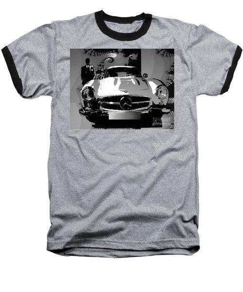 1956 Mercedes Benz 300 Sl Gullwing Baseball T-Shirt