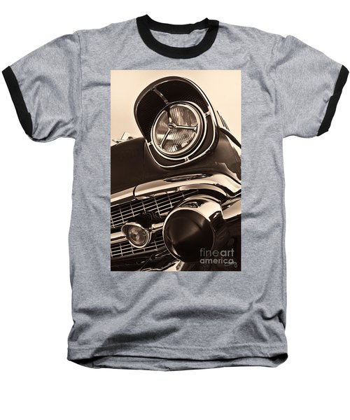 1957 Chevy Details Baseball T-Shirt