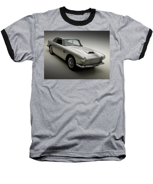 Baseball T-Shirt featuring the photograph 1958 Aston Martin Db4 by Gianfranco Weiss