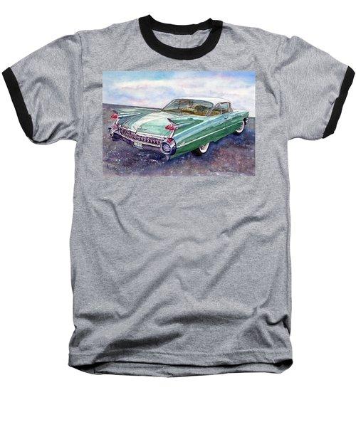 1959 Cadillac Cruising Baseball T-Shirt