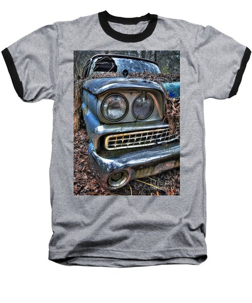 1959 Ford Galaxie 500 Baseball T-Shirt