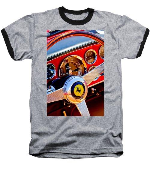 1960 Ferrari 250 Gt Cabriolet Pininfarina Series II Steering Wheel Emblem -1319c Baseball T-Shirt