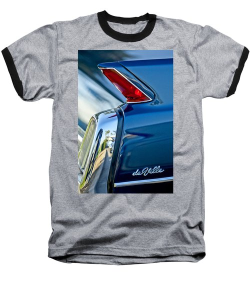 1962 Cadillac Deville Taillight Baseball T-Shirt