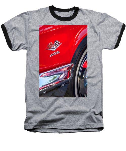 1962 Chevrolet Impala Ss 409 Emblem Baseball T-Shirt