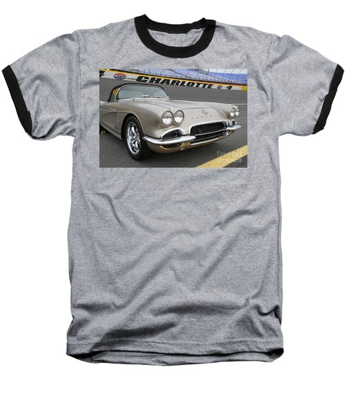 1962 Chevy Corvette Baseball T-Shirt