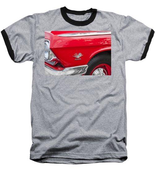 1962 Chevy Impala 409 Baseball T-Shirt