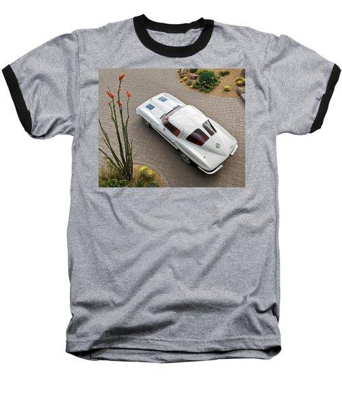 1963 Chevrolet Corvette Split Window -440c Baseball T-Shirt