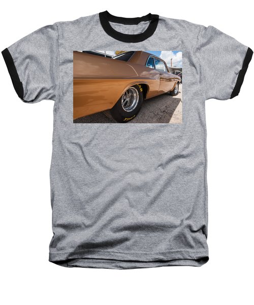 1963 Pontiac Lemans Race Car Baseball T-Shirt