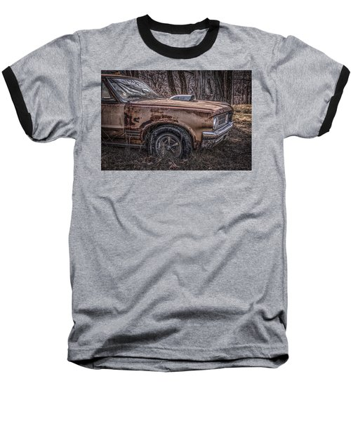 Baseball T-Shirt featuring the photograph 1964 Pontiac by Ray Congrove