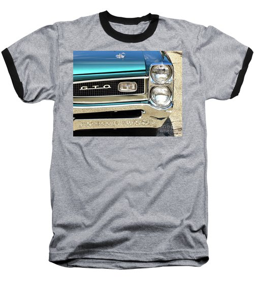 1966 Pontiac Gto Baseball T-Shirt