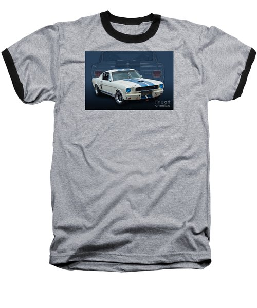 1966 Shelby Gt350 Baseball T-Shirt