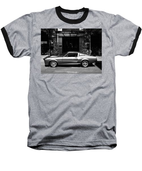 1967 Shelby Mustang B Baseball T-Shirt by Andrew Fare