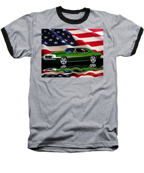 1968 Camaro Tribute Baseball T-Shirt