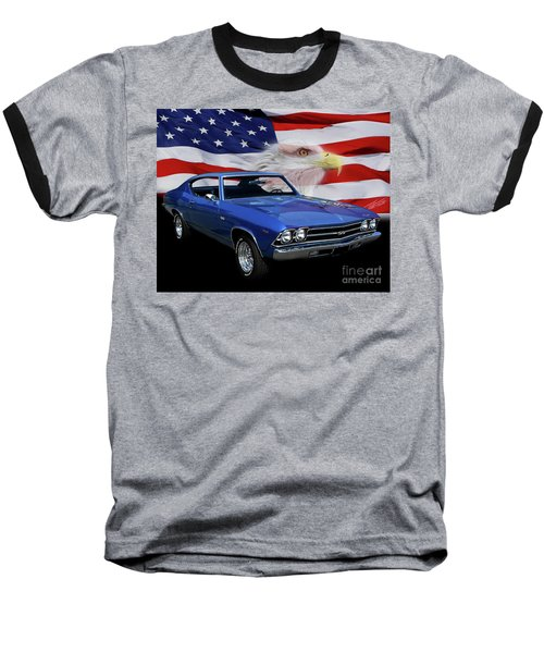 1969 Chevelle Tribute Baseball T-Shirt