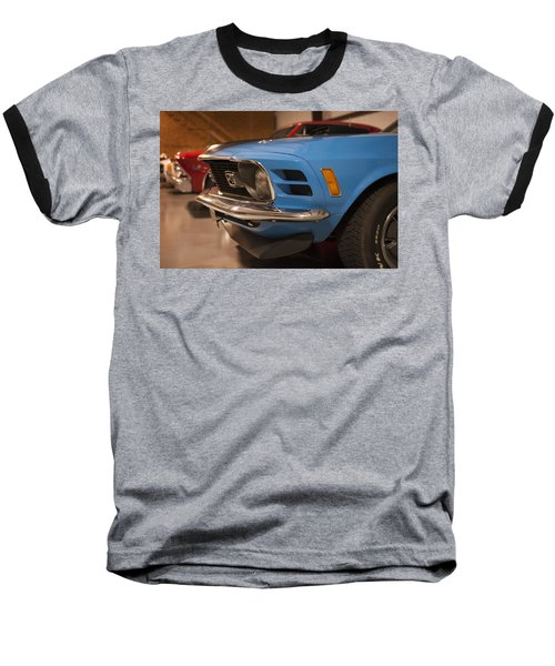 1970 Mustang Mach 1 And Other Classics Hidden In A Garage Baseball T-Shirt