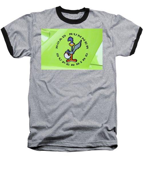 1970 Plymouth Superbird Roadrunner Baseball T-Shirt