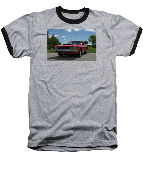 1972 Dodge Demon Baseball T-Shirt by Tim McCullough