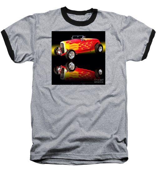 1932 Ford V8 Hotrod Baseball T-Shirt