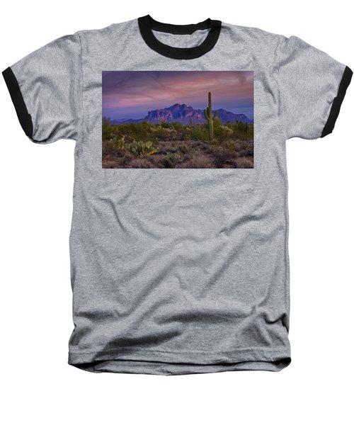 A Beautiful Desert Evening  Baseball T-Shirt