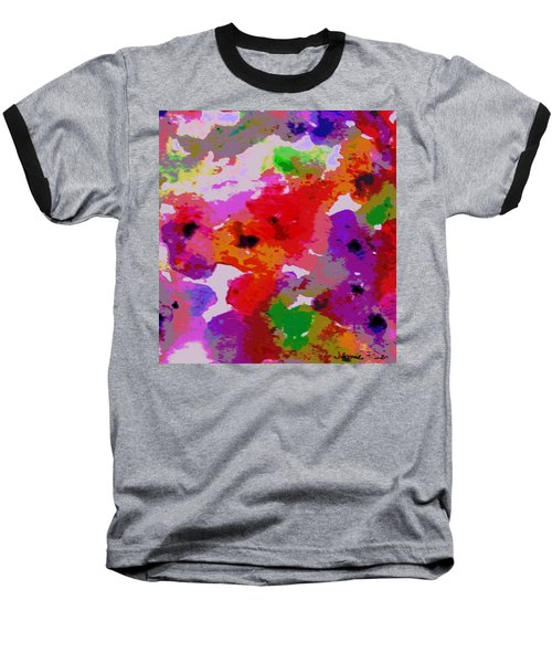 A Little Watercolor Baseball T-Shirt by Jamie Frier
