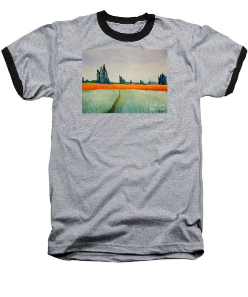 After Monet Baseball T-Shirt