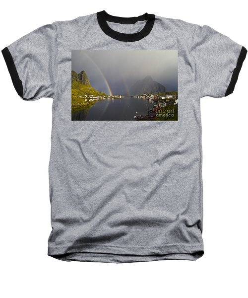 After The Rain In Reine Baseball T-Shirt