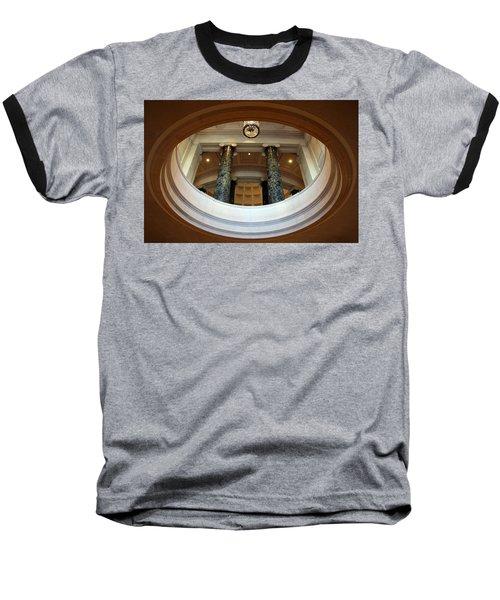 Baseball T-Shirt featuring the photograph An Oculus by Cora Wandel