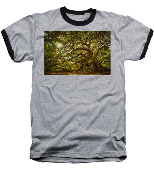 Baseball T-Shirt featuring the photograph Angel Oak by Serge Skiba